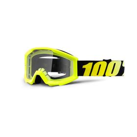 100% Strata Anti Fog Clear - Gafas enduro Niños - amarillo